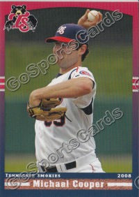 2008 Tennessee Smokies Michael Cooper