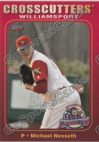 2011 Williamsport Crosscutters Mike Michael Nesseth
