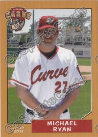 2012 Altoona Curve Michael Ryan