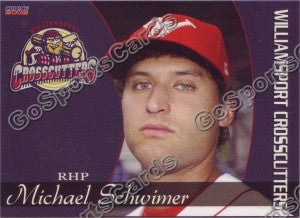 2008 Williamsport Crosscutters Michael Schwimer
