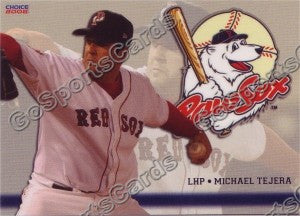 2008 Pawtucket Red Sox Michael Tejera