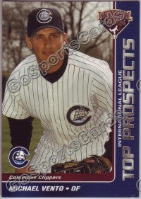2004 International League Top Prospects #28 Michael Vento