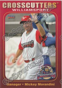 2011 Williamsport Crosscutters Mickey Morandini