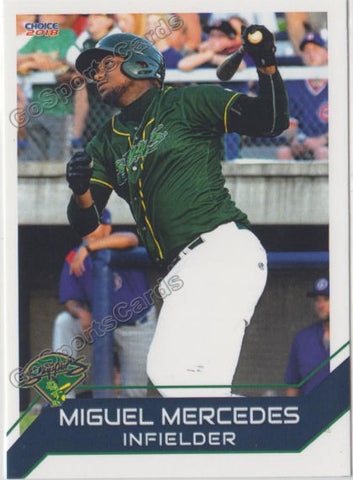 2018 Beloit Snappers Miguel Mercedes