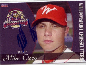 Mike Michael Cisco 2008 Williamsport Crosscutters (Autograph)