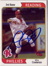 Mike Costanzo 2007 MultiAd Sports Reading Phillies #1 (Autograph)