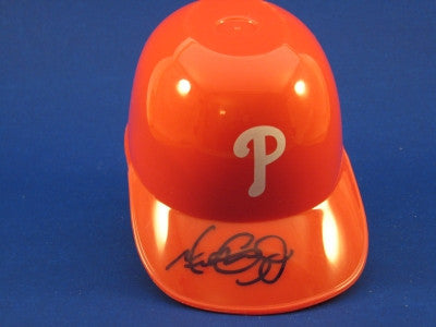 Michael Costanzo Philadelphia Phillies Mini Helmet Autograph