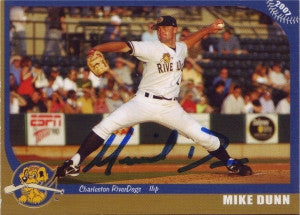 Mike Dunn 2007 Charleston Riverdogs (Autograph)