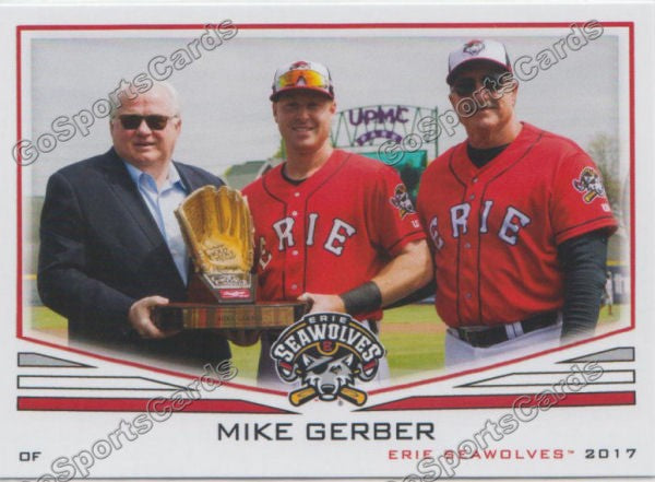 2017 Erie SeaWolves Mike Gerber