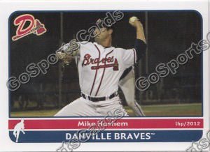 2012 Danville Braves Mike Hashem