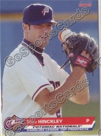 2005 Choice Carolina League Top Prospects Mike Hinckley