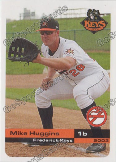 2003 Frederick Keys SGA Mike Huggins