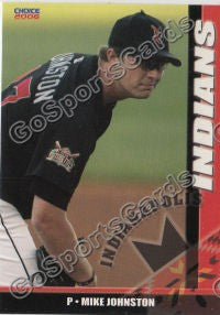 2006 Indianapolis Indians Mike Johnston