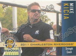2011 Charleston RiverDogs Mike Kicia