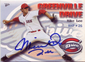 Michael Lee 2009 Greenville Drive (Autograph)
