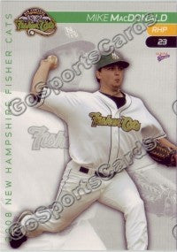 2008 New Hampshire Fisher Cats Mike MacDonald