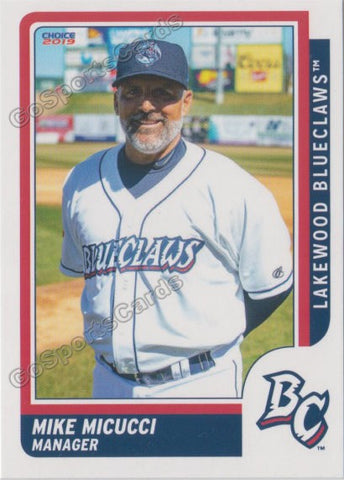 2019 Lakewood BlueClaws Mike Micucci