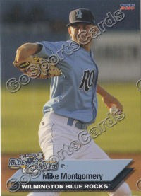 2010 Wilmington Blue Rocks Mike Montgomery