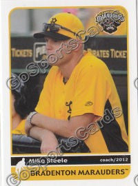 2012 Bradenton Marauders Mike Steele