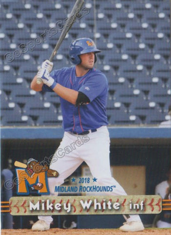 2018 Midland RockHounds Mikey White