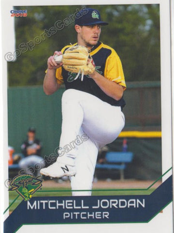 2018 Beloit Snappers Mitchell Jordan