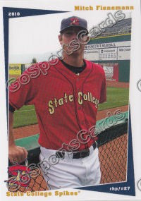 2010 State College Spikes Mitch Fienemann