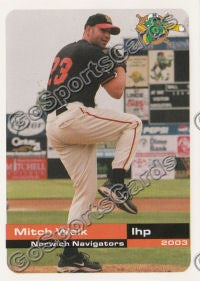 2003 Norwich Navigators Mitch Walk