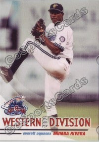 2004 GrandStand Northwest League All Star Mumba Rivera