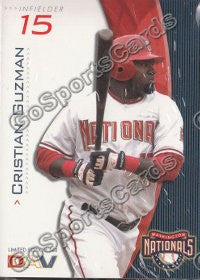 2009 Washington Nationals DAV Team Set