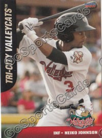 2011 Tri City Valley Cats Neiko Johnson