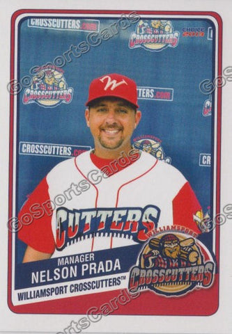 2013 Williamsport CrossCutters Nelson Prada