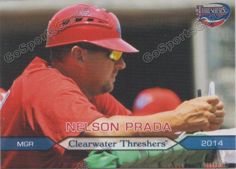 2014 Clearwater Threshers Nelson Prada
