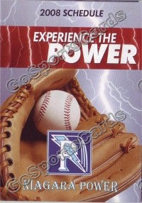 2008 Niagra Power Pocket Schedule