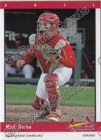 2011 Springfield Cardinals Nick Derba