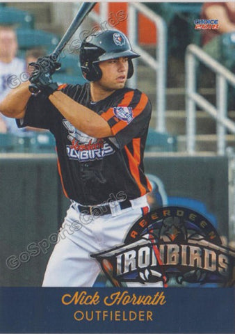 2018 Aberdeen Ironbirds Nick Horvath