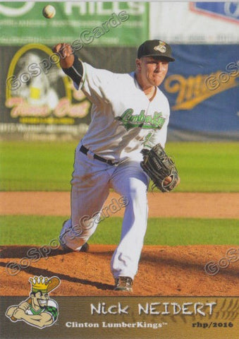 2016 Clinton LumberKings Update Nick Neidert