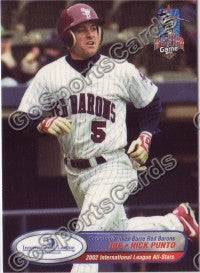 2002 International League All-Stars Choice Nick Punto
