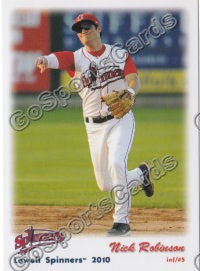 2010 Lowell Spinners Nick Robinson