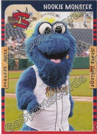 2011 State College Spikes Nookie Monster