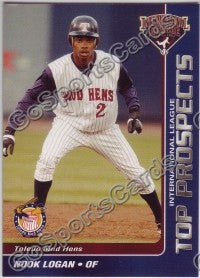 2004 International League Top Prospects #16 Nook Logan