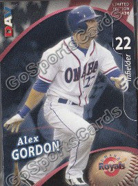 2009 Omaha Royals DAV Team Set (Alex Gordon)