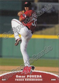 2009 Frisco Roughriders Omar Poveda