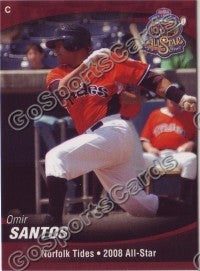 2008 International League All Star Omir Santos