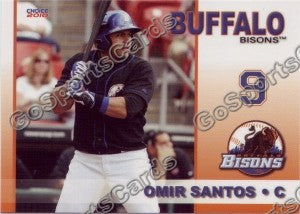 2010 Buffalo Bisons Omir Santos