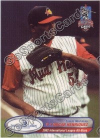 2002 International League All-Stars Choice Oscar Henriquez