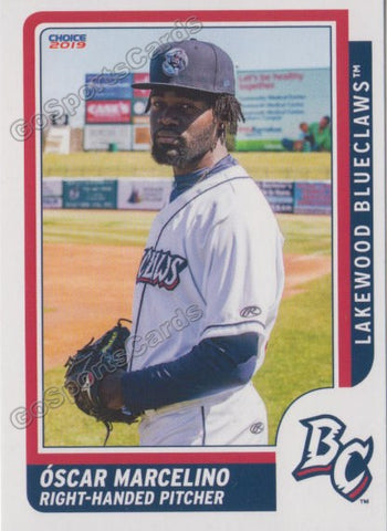 2019 Lakewood BlueClaws Oscar Marcelino