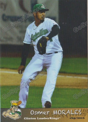 2016 Clinton LumberKings Update Osmer Morales