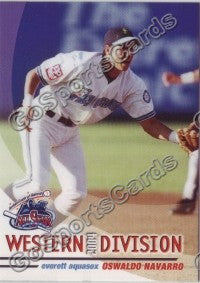 2004 GrandStand Northwest League All Star Oswaldo Navarro