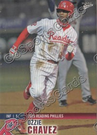 2009 Reading Phillies Ozzie Chavez #7