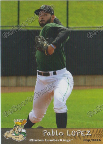 2016 Clinton LumberKings Update Pablo Lopez
